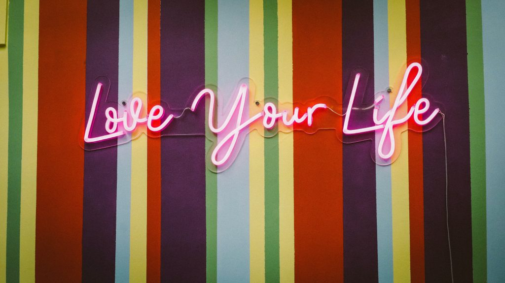 Love your life courage affirmations